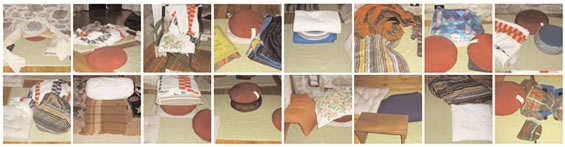 striscia cuscini